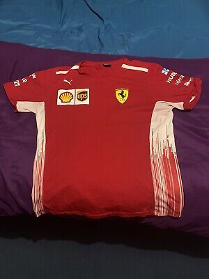 Scuderia Ferrari 2018 Kimi Raikkonen T Shirt Tee Top Short Sleeve Mens PUMA XL