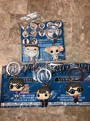 Funko Pop 2018 Harry Potter Advent Calendar Mystery Vinyl Figure Lot Keychains