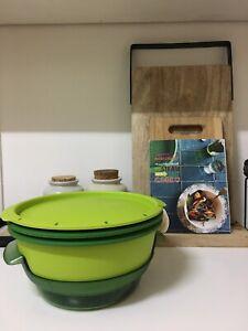 Tupperware Micro Steamer green