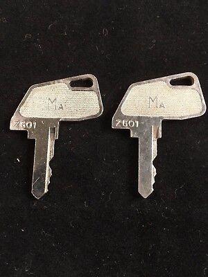 Tec Cash Register Ma Key Zg01 Set Of 2