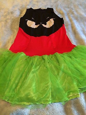 (P/O) MARVIN THE MARTIAN DRESS HALLOWEEN CHILD COSTUME ](Marvin Martian Halloween Costume)