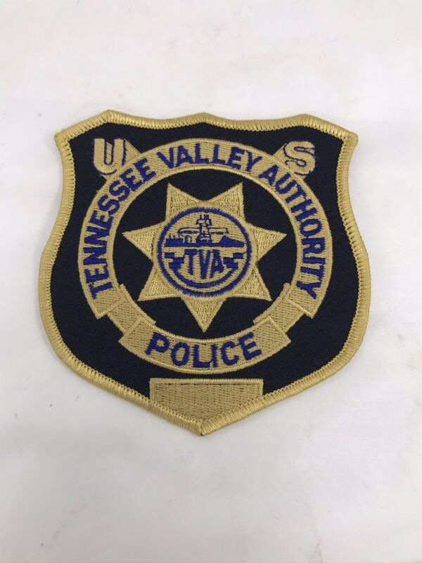 TVA Police patch Tennessee Valley Authority TN US Federal Agency
