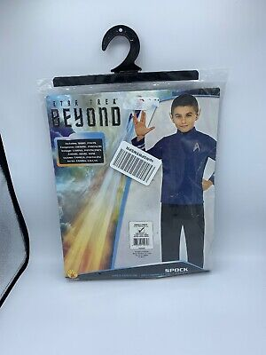 Costume Party Movie Characters (Star Trek Mr. Spock Movie Costume Child (S) 4-6 Years Dress Up Party Play)