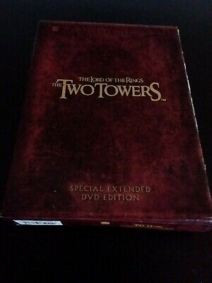 The Lord of the Rings: The Two Towers (DVD, 2003 4-Disc Set Special Extended Ed.