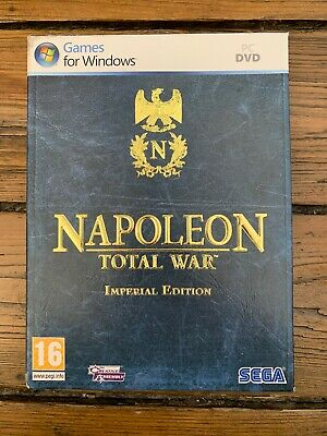 Napoleon: Total War - Imperial Edition (PC: Windows, 2010) d'occasion  Expédié en Belgium
