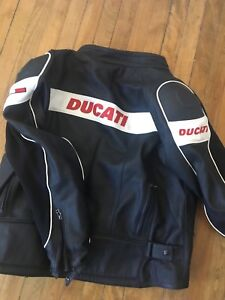 dainese Ducati armoured leather Jacket Size L