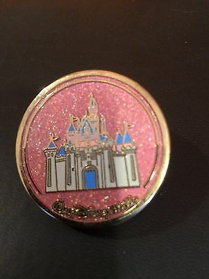 Disney Pin Castle/Sleeping Beauty Aurora Compact Series 2003 Retired