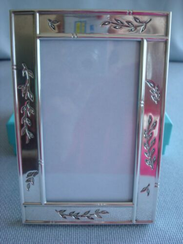 "TIFFANY STERLING SILVER ~ PICTURE FRAME 4 X 6"" ~ RARE BEAUTY!"