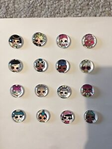 New Lol Surprise Doll rings, stud and clip on earrings
