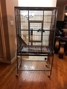 Cage for sugar gliders or birds