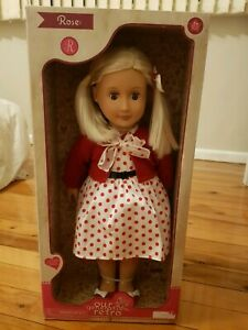 Our Generation Doll Retro - Rose brand new in box