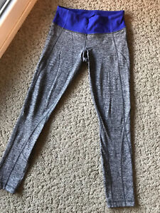 *KELOWNA* Lululemon size 6 heather grey leggings