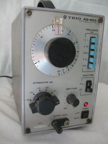 TRIO AG-203 1MHz CR Oscillator