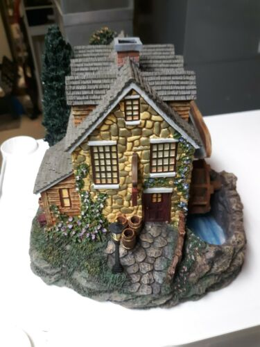 "Thomas Kinkade Hawthorne Village ""Stonebrook Mill"""
