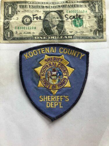 Kootenai County Idaho Police Patch pre-sewn in great shape