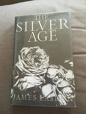 """1985 1ST EDITION """"THE SILVER AGE"""" BY JAMES LASDEN FICTION HARDBACK BOOK"""