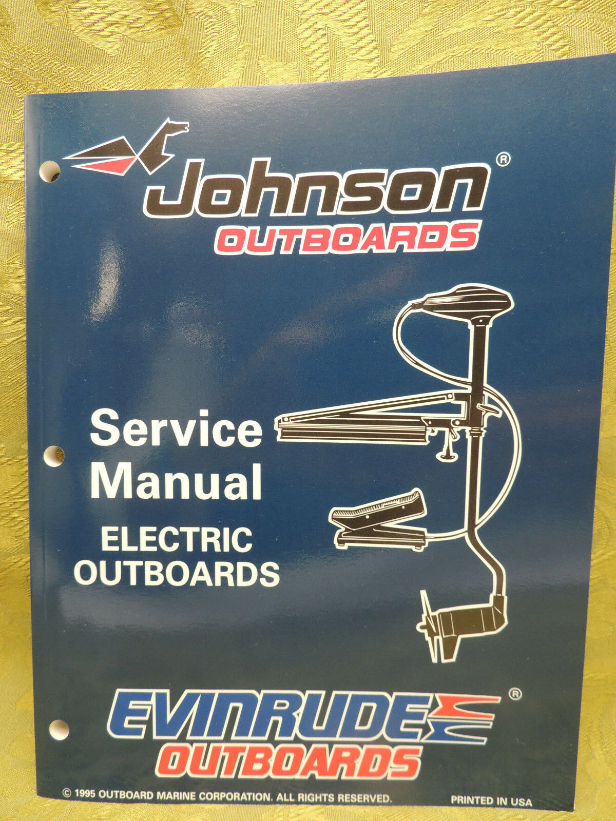 1996 Johnson Outboards Service Manual Electric Outboards Evinrude 12 24 volt