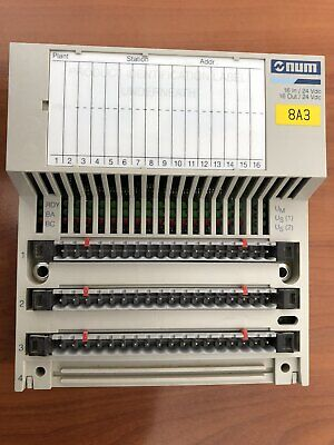 Plc Module Num 16in 16out 24vdc For Weeke And Homag Cnc