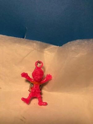 Vintage Pink Imperial  Poopatrooper Funny Guy Parachute Toy with Chute New
