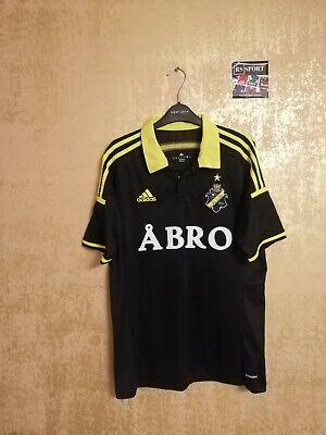 AIK Stockholm Solna Home Fußballtrikot Trikot Jersey Shirt 2014/2015 Adidas M image