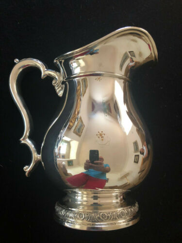 International Sterling Silver 4 1/4 Pint Prelude Water Pitcher