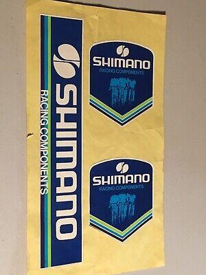 Shimano aero ax bike road bicycle dura-ace bmx Old School sticker vintage NOS