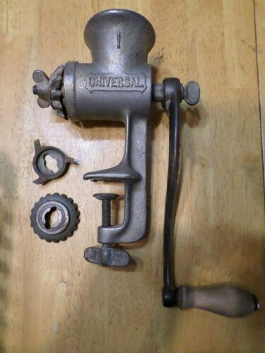 Universal Cast Iron Meat /Nut Grinder - L F & C # 3 - Hand Crank New Britian CT