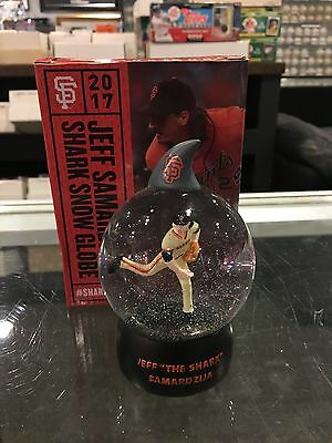 JEFF SAMARDZIJA SAN FRANCISCO GIANTS BALL PARK GIVE AWAY SHARK TANK MINT IN BOX