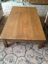 LARGE TIMBER COFFEE TABLE (MAHOGANY) Cornubia Logan Area Preview