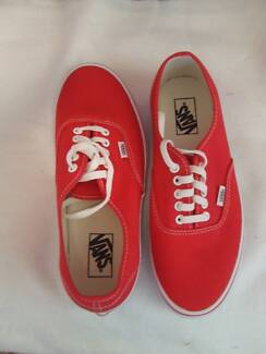 Vans RED Men's Canvas Shoes