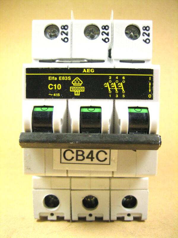 AEG -  ELFA-E83S-C10 -  Circuit Breaker
