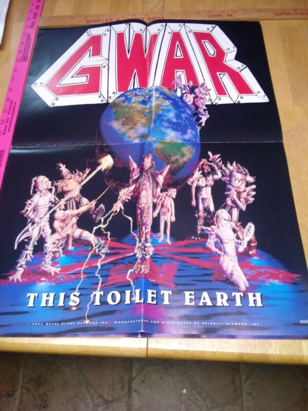G War, This Toilet Earth, 18 X 24 Poster