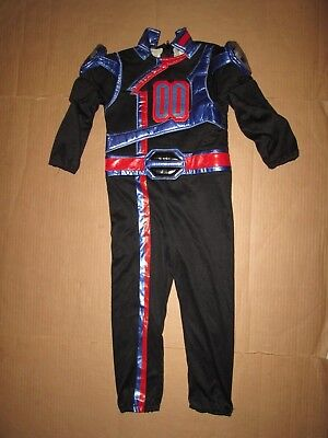 Boys DISNEY STORE POWER RANGERS SPD POLICE Halloween Costume standard size XS 4