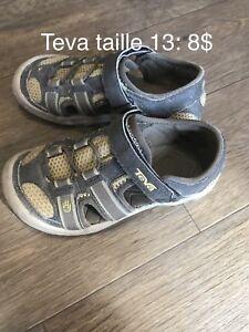 Sandales Teva taille 13