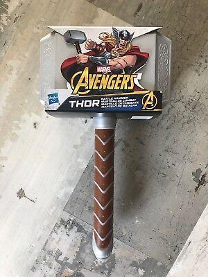 New Hasbro AVENGERS Marvel Thor Battle Hammer Cosplay Halloween Kids Costume (Thor Kids Hammer)