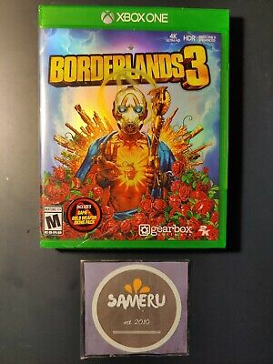 NEW BORDERLANDS 3 XBOX ONE STANDARD  XB1 SEALED USA SELLER FAST FREE SHIPPING!!
