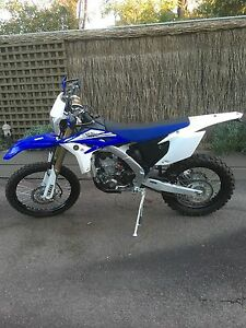 YAMAHA 2014 WR450F ENDURO LOW KMS USEAGE EXCELLENT CONDITION Templestowe Manningham Area Preview