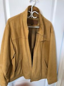 Men's XL Timberland Cowhide Leather Jacket