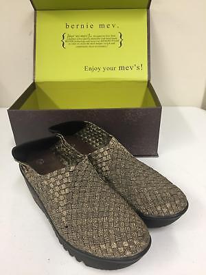 Gold Gem Wedge - BM Bernie Mev Shoes Gem Wedge Woman Shoes Gold 150964 Size 38 7.5