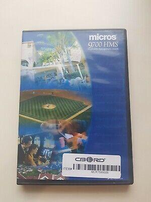 Micros 9700 Hms Pos System Installation Server Software Discs V 3.2 2005 Sql