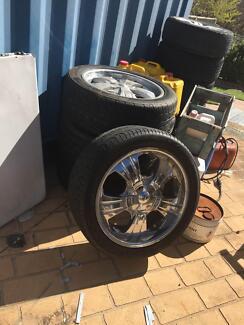 Tyres & Alloy Rims