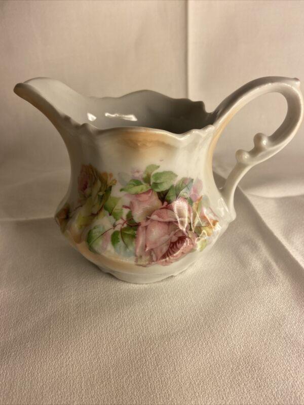 Vintage Creamer From Germany Floral