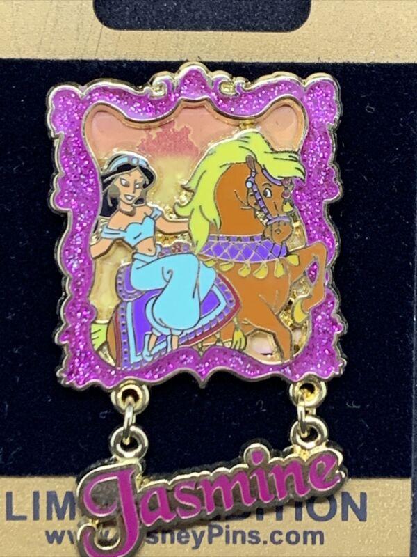 Disney WDW - Gold Card - Princesses and Horses - Jasmine LE 1500 Pin 62263