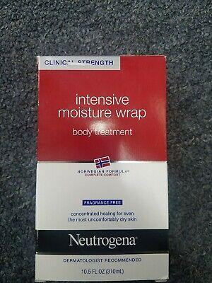 1 NEW BOX Neutrogena Norwegian Formula Intensive Moisture Wrap Body 10.5 -