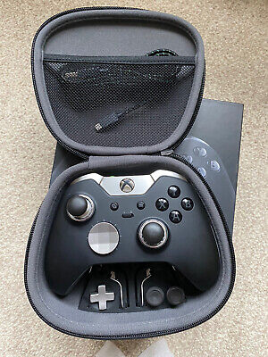 Xbox One Elite Wireless Controller + Play and Charge, Extra Paddles