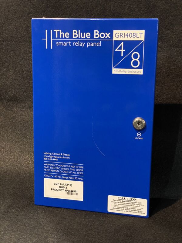 The Blue Box LC&D Lithonia Acuity GR1408LT 4/8-Smart Relay Panel Light Control