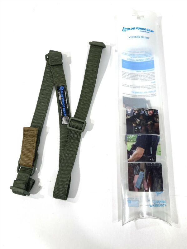 Blue Force Gear Vickers 2-Point Combat Rifle Sling Quick Adjust VCAS-125-OA-OD