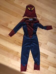 Costume d'halloween Spiderman , smala, 5-6 ans