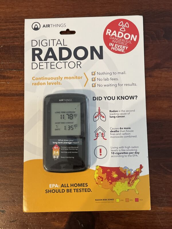Air Things Digital Radon Gas Detector