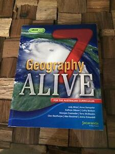 Year 7 - Geography Alive 7 + eBook Mount Waverley Monash Area Preview
